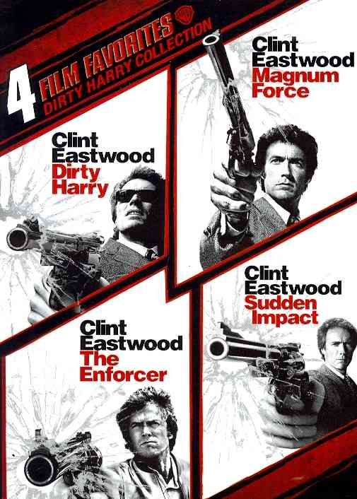 4 FILM FAVORITES:DIRTY HARRY COLLECTI BY EASTWOOD,CLINT (DVD)